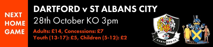 Next at Princes Park: Dartford v St Albans
