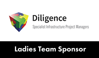 Dartford FC ladies team sponsored by Diligence