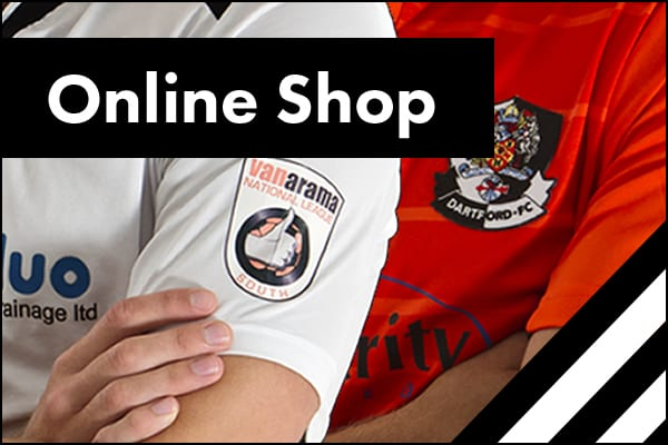 Dartford FC online shop