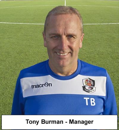 Manager Tony Burman