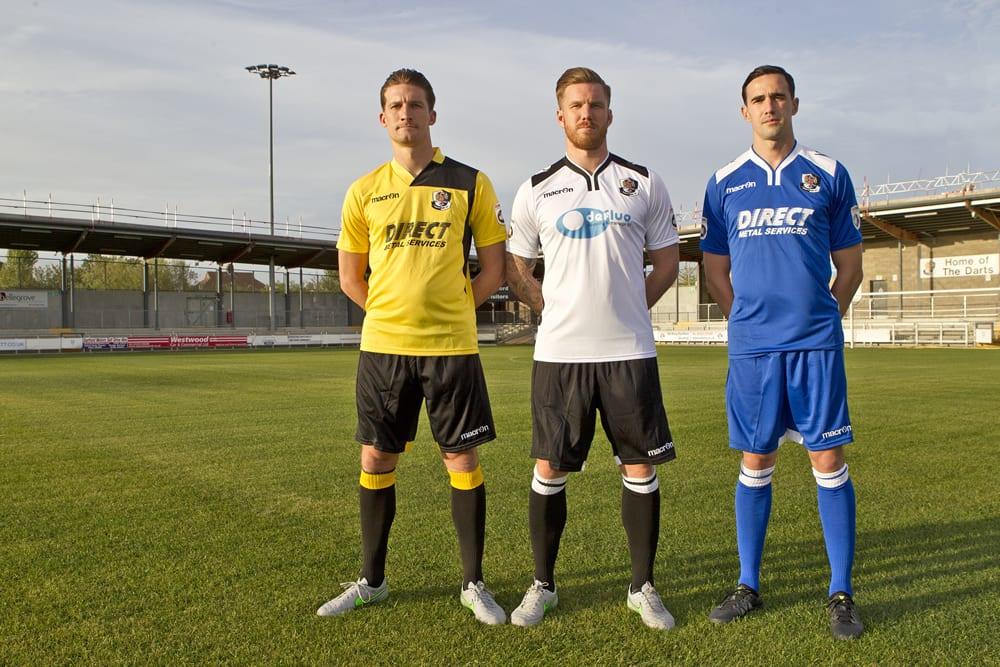 2015/16 Season Kits - Dartford FC