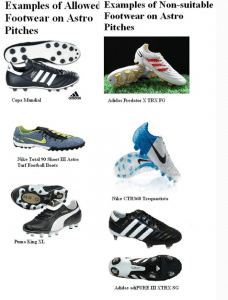 Football Boots for astroturf