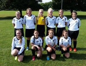 U14 Girls Team