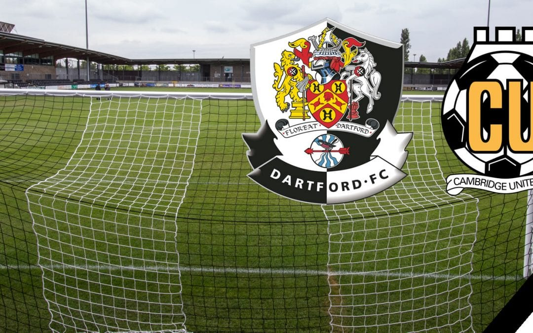 Match Report: Dartford vs Cambridge