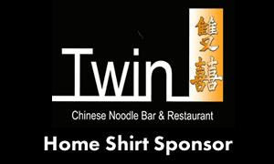 Home shirt sponsor - Twins