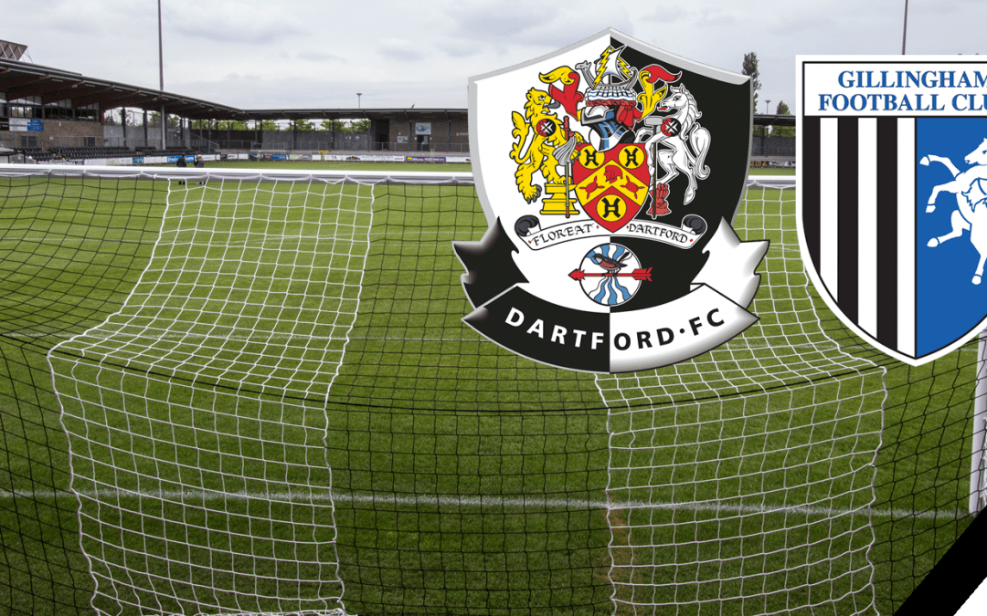 Dartford FC vs Gillingham FC Match Report