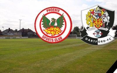 Match Information – Phoenix Sports v Dartford