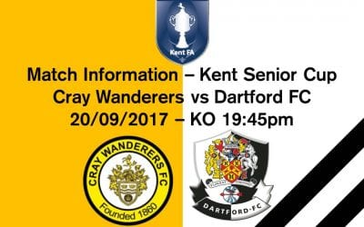 Match Information – Cray Wanderers FC