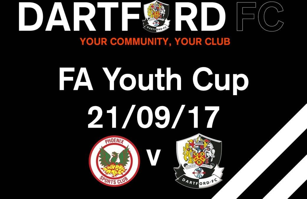 FA Youth Cup – Away To Phoenix Sports
