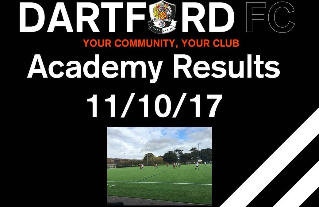 Academy Results 11/10/2017