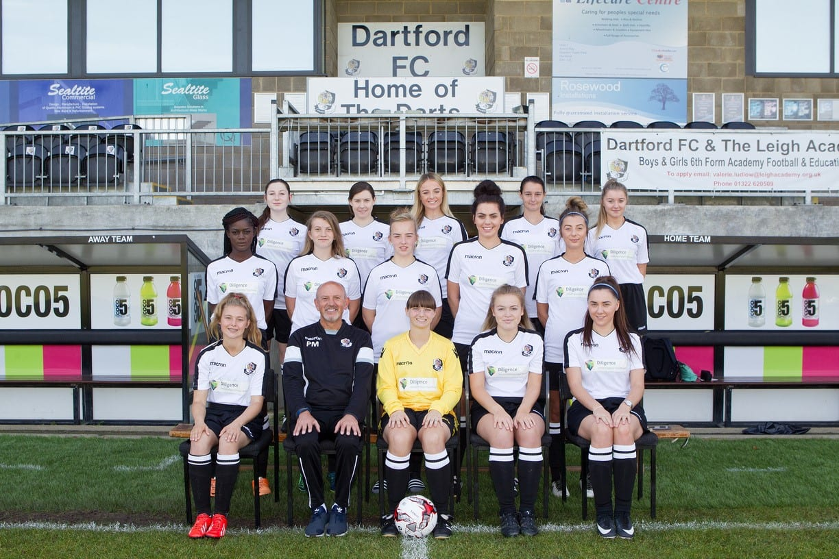 Dartford FC Ladies Team