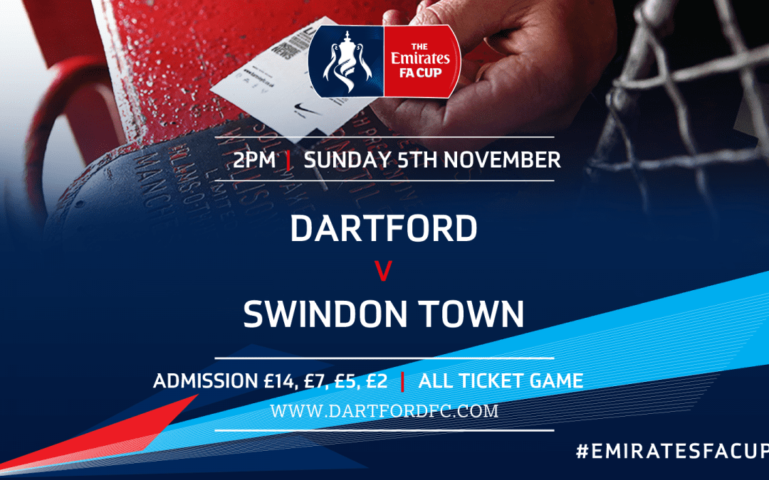 Dartford v Swindon Town: Ticket & Match Details