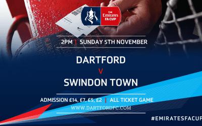 Match Information: Dartford v Swindon