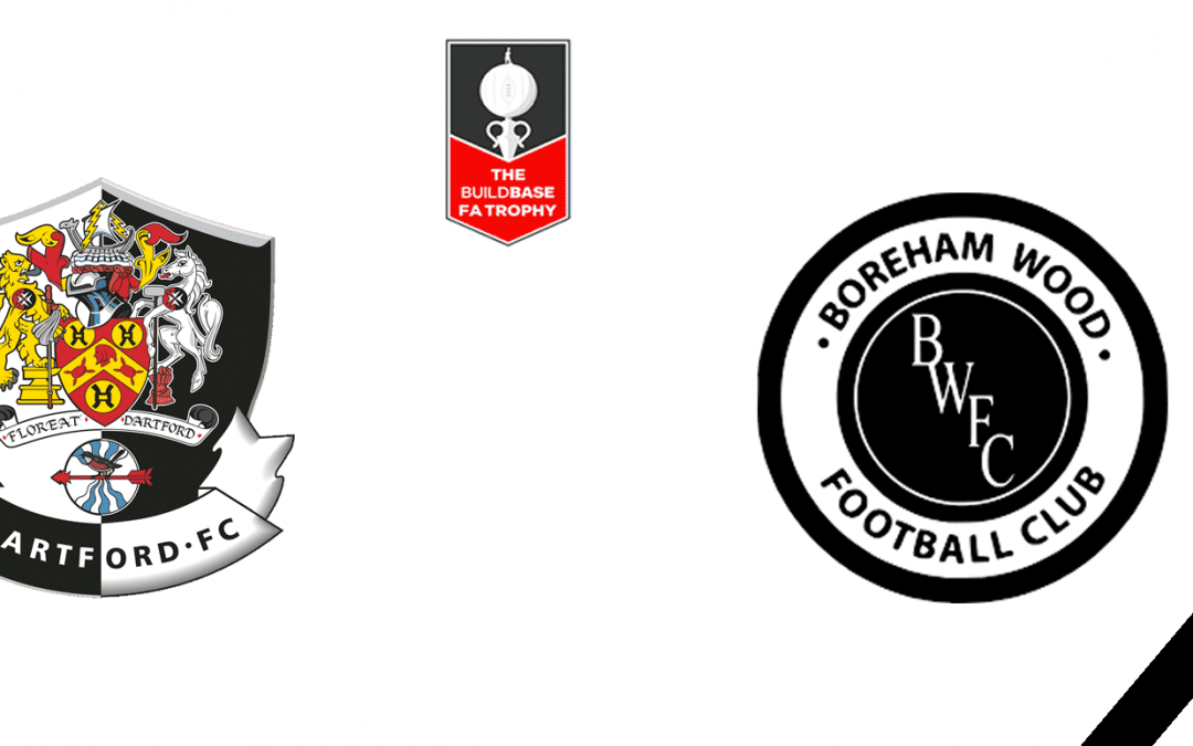 Match Information: Dartford V Boreham Wood – The Buildbase FA Trophy 1st Round