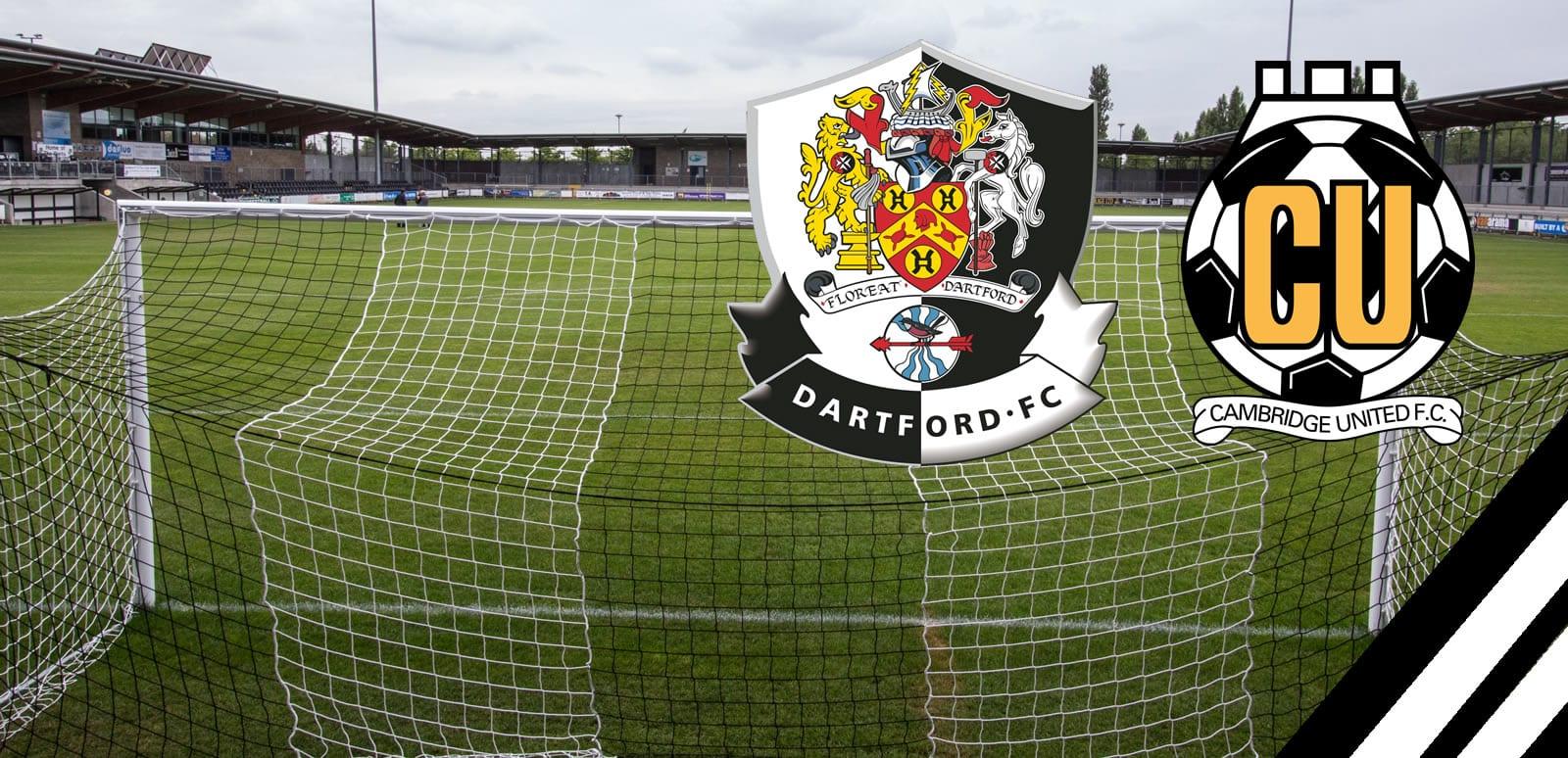 New Pre Season Fixture V Cambridge United Dartford