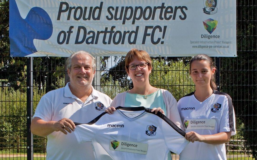 Dartford Ladies New Sponsors