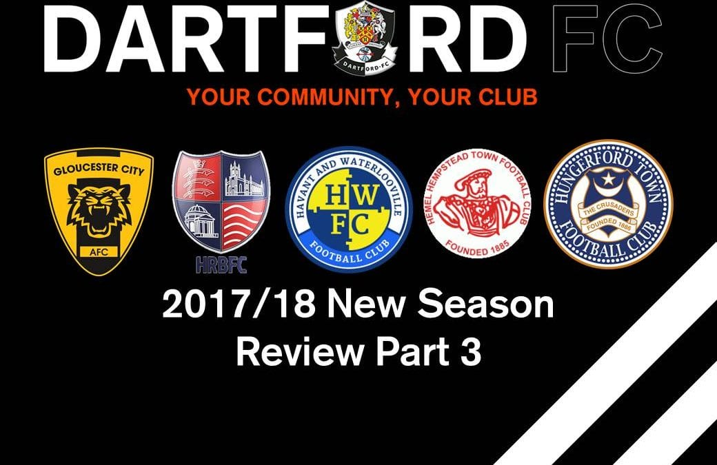 2017/18 New Season Review Part 3