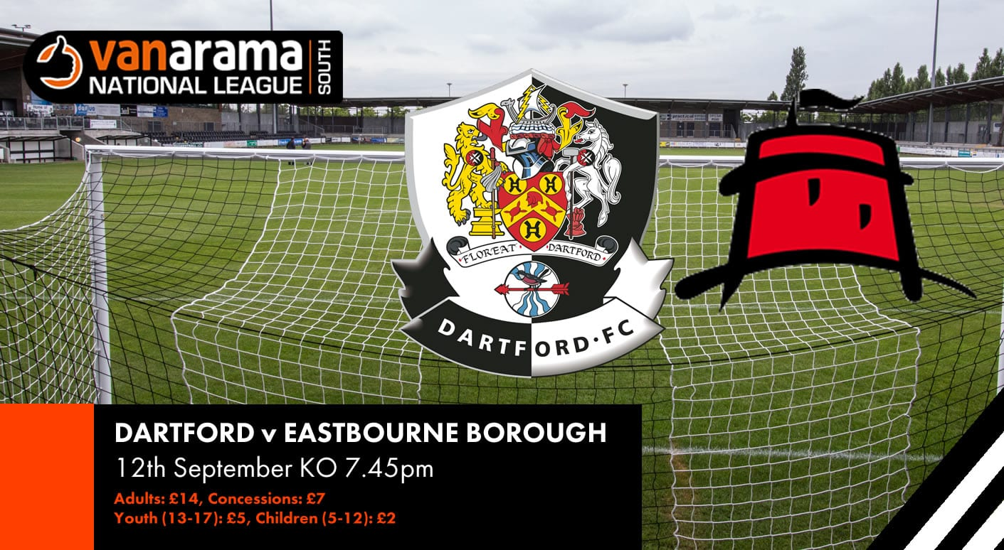Match Information Eastbourne Borough Dartford Football