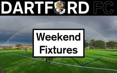 Weekend Fixtures Saturday 13th/Sunday 14th