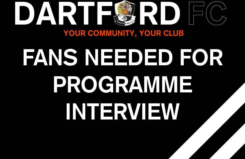 Calling all Dartford Fans