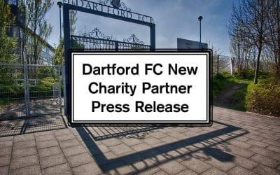 Dartford FC New Charity Partner