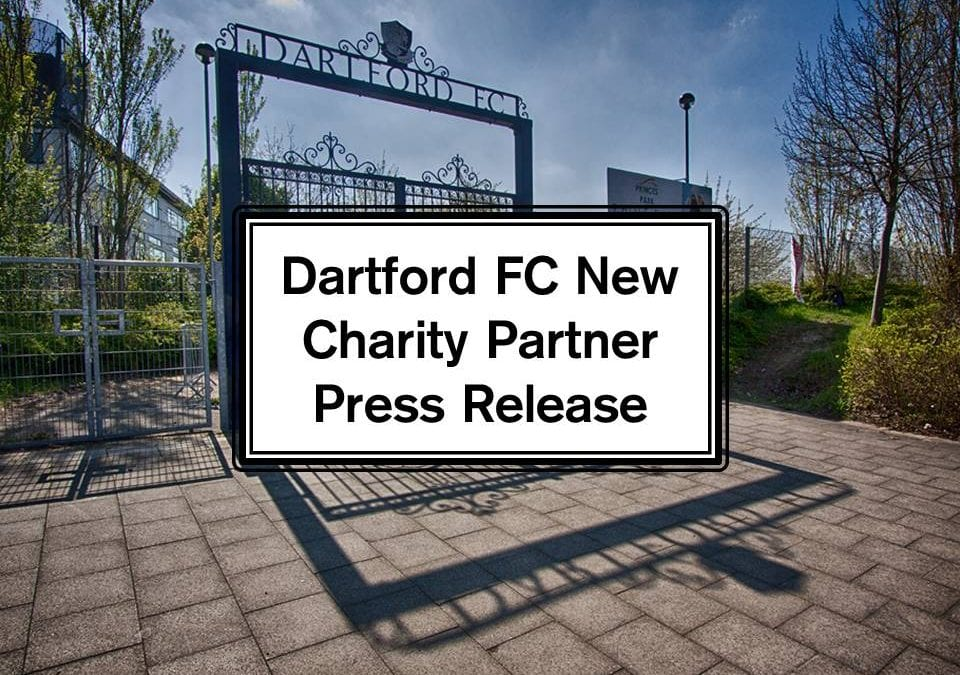 Dartford FC New Charity Partner