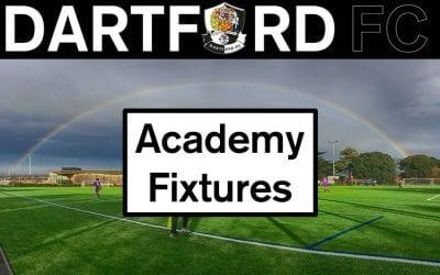 Academy Fixtures