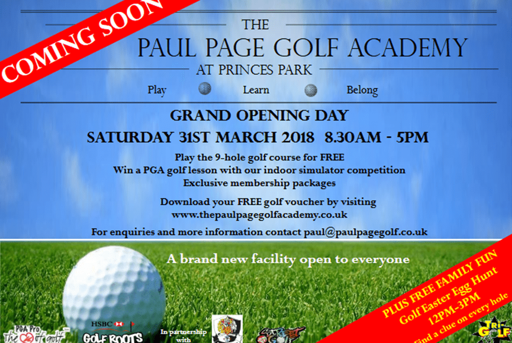 The Paul Page Golf Academy at Princes Park