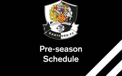 Pre Season Schedule 2018/2019