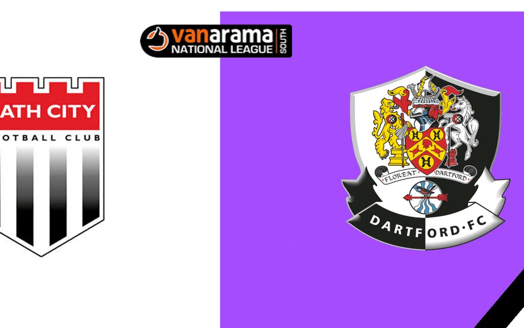 Match Information: Bath City v Dartford