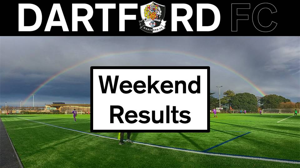 Weekend Results Saturday 12th/Sunday 13th