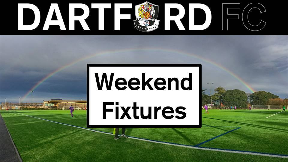 Weekend Fixtures Saturday 26th/Sunday 27th