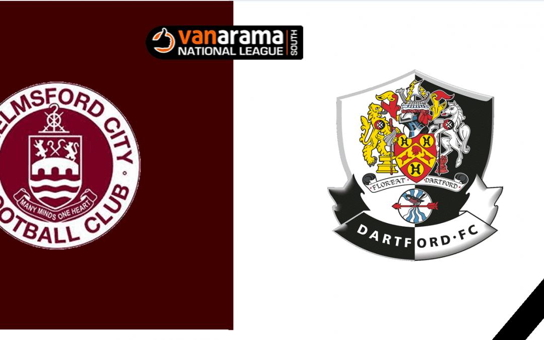 Match Information: Chelmsford City v Dartford