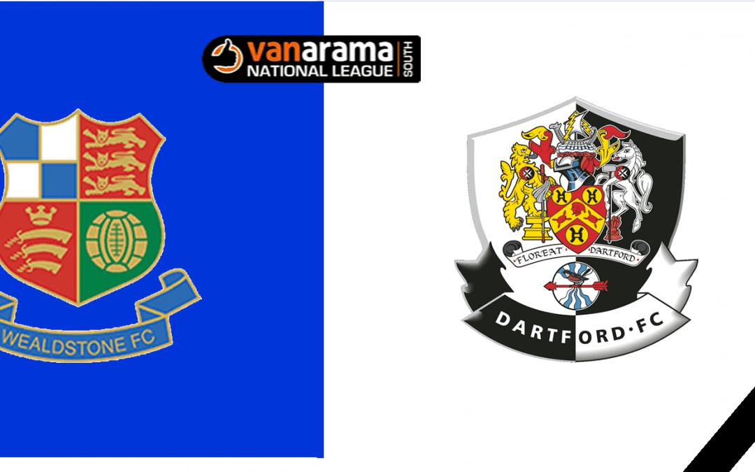 Match Information: Wealdstone v Dartford