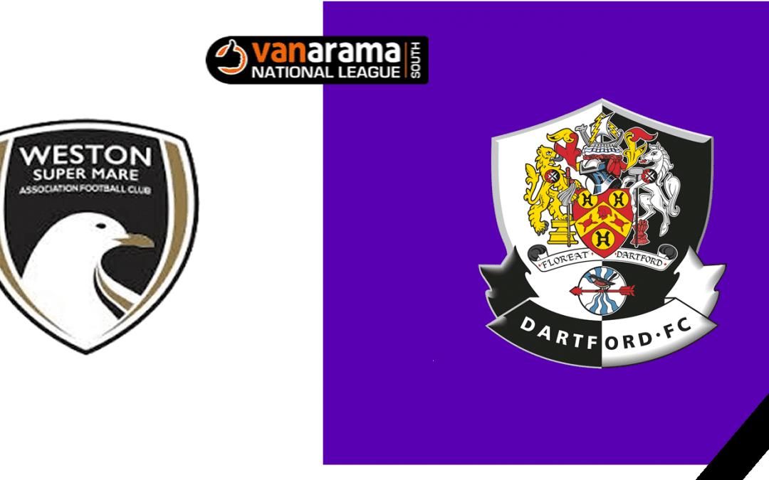 Match Information: Weston-Super-Mare v Dartford