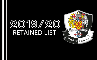 Retained List 2019/2020