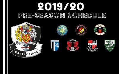 Pre – Season Schedule Update