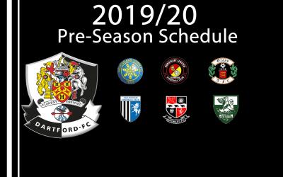 Pre – Season Schedule