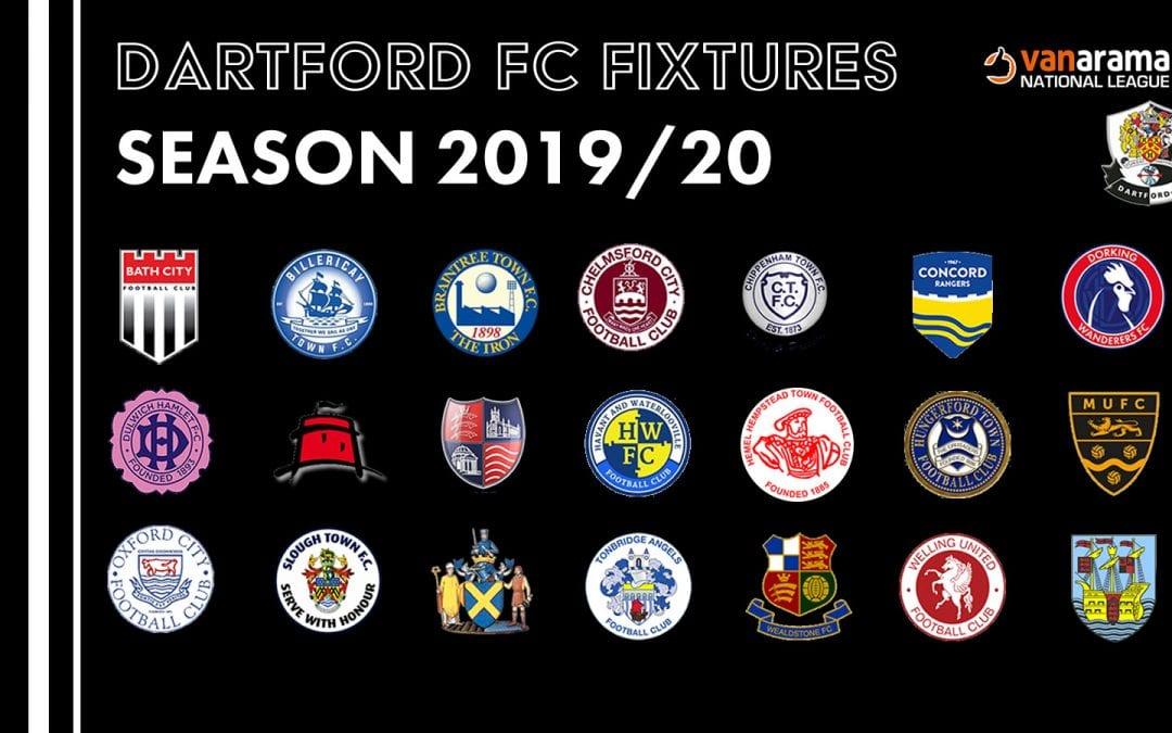 2019/2020 Fixtures