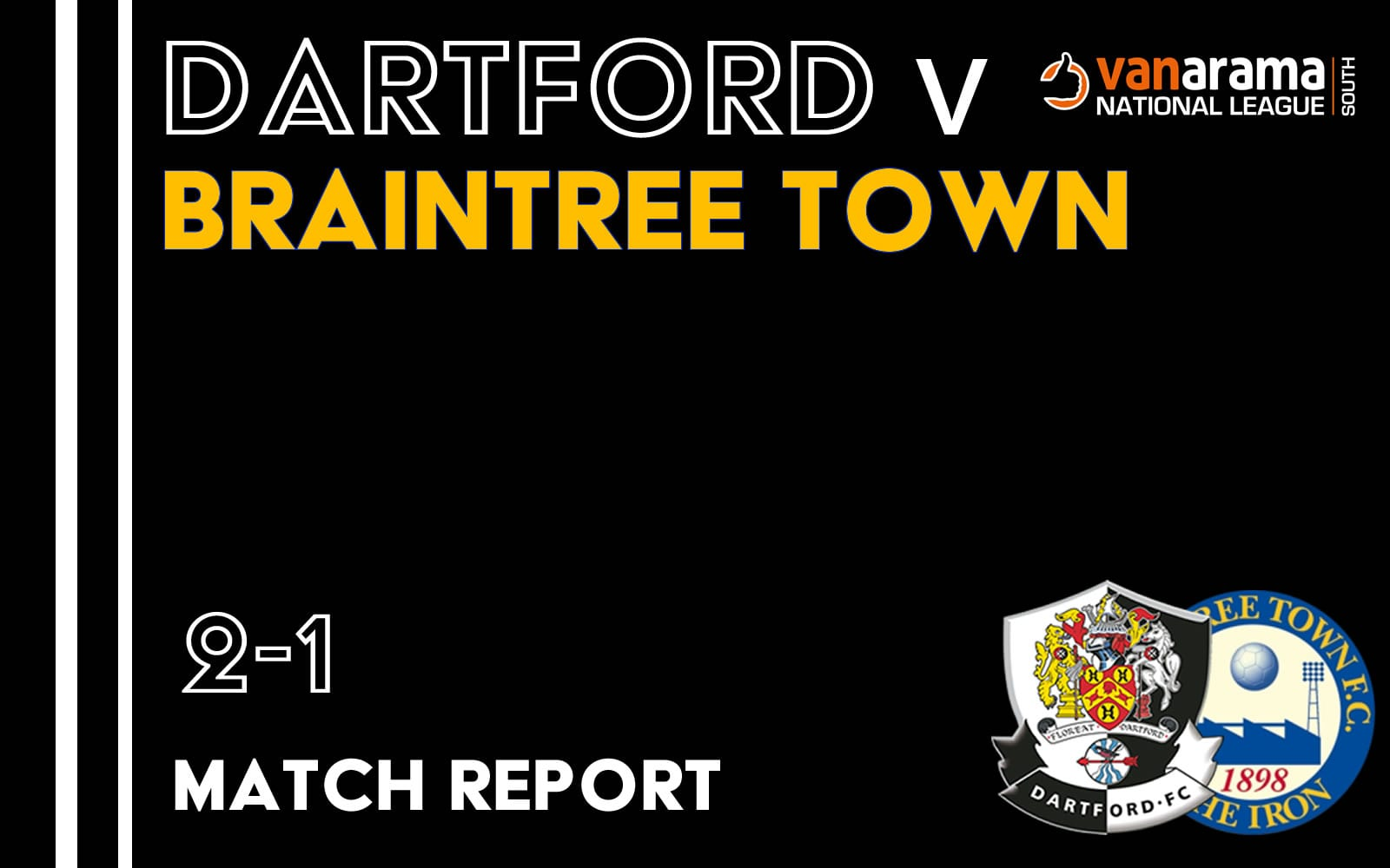 Dartford v Braintree Town