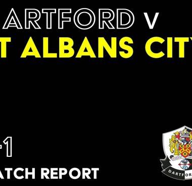 Dartford v St Albans Match report