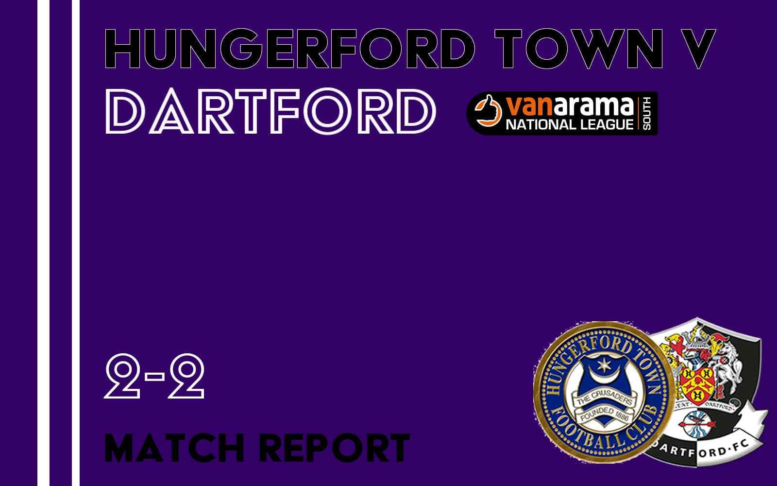 Hungerford Town v Dartford