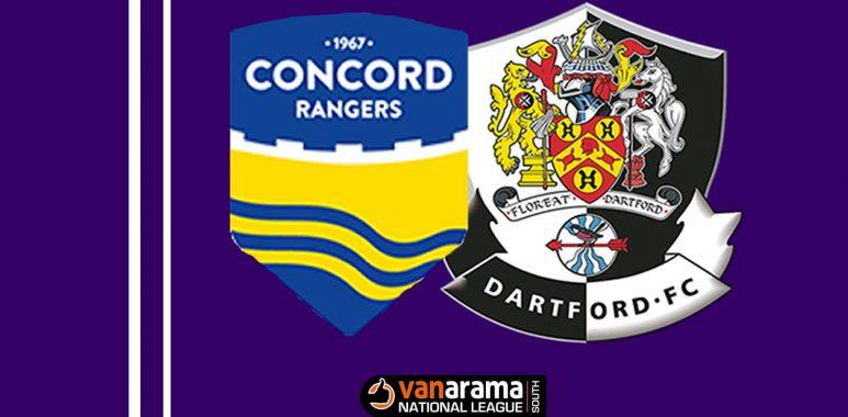 Concord Rangers v Dartford