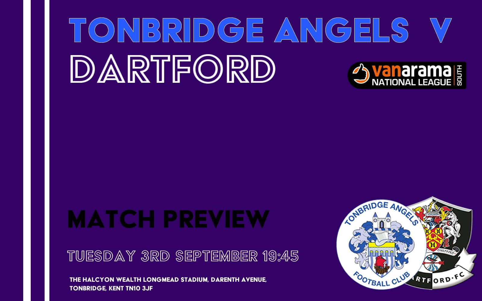 Tonbridge Angels v Dartford