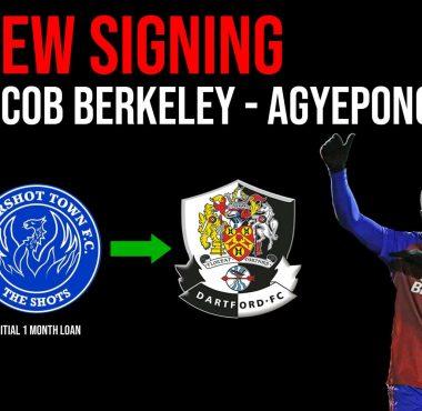 New Signing Jacob Berkeley - Agyepong