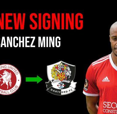 New Signing Sanchez Ming