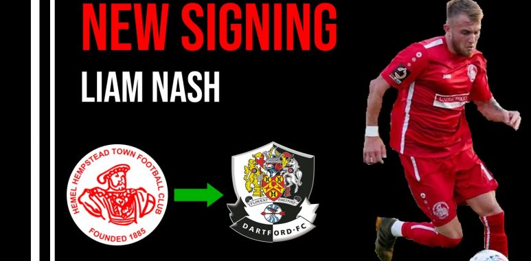 New Signing Liam Nash