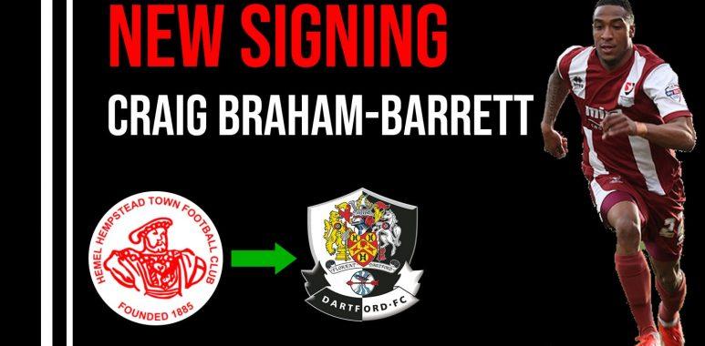 New Signing Craig Braham-barrett