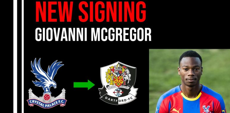 New Signing Giovanni McGregor