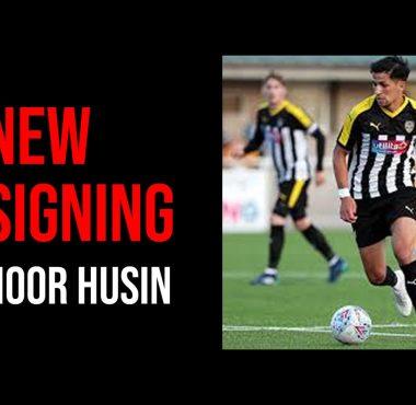 New Signing Noor Husin